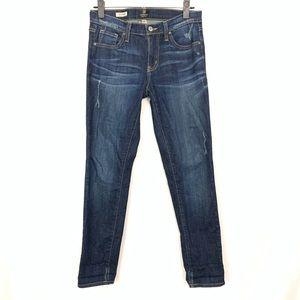 Just Black   Boyfriend Denim Jeans Womens Sz 24